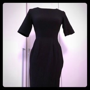 ASOS timeless black shift. Also available in red
